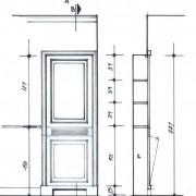 cache radiateur couloir